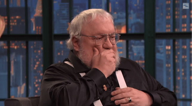 George RR Martin - Late Night with Seth Meyers