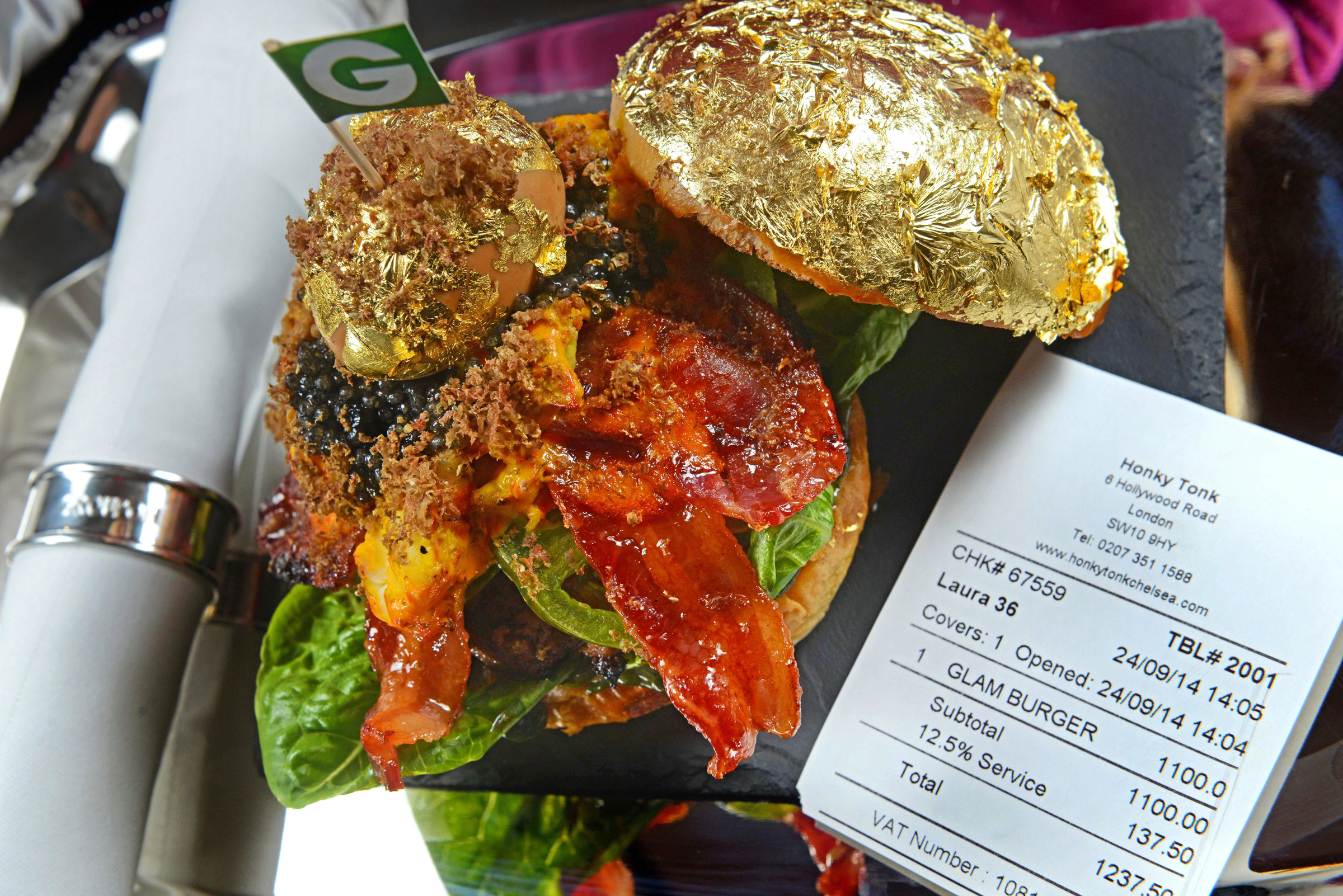 What does a £1,100 burger taste like?
