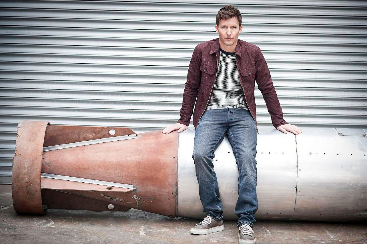 James Blunt is on the hunt for an undiscovered music act to join him on tour (Picture: Atlantic Records)