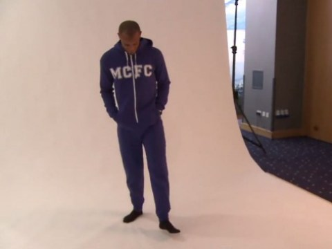 Vincent Kompany and Fernando model Manchester City's winter range – by wearing onesies