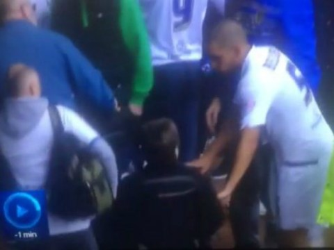 Leeds United defender Giuseppe Bellusci brilliantly gives his shirt to disabled fan