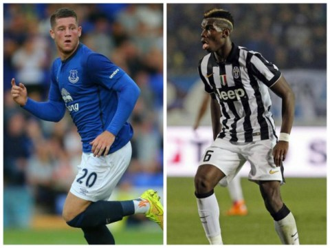 Manchester City plot deals for Juventus' Paul Pogba and Everton's Ross Barkley as they seek Yaya Toure replacement