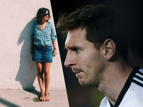 This woman's shadow brilliantly looks so much like Barcelona forward Lionel Messi