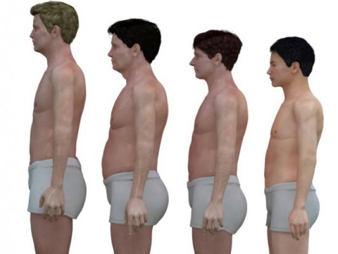 Artist Nickolay Lamm shows how men's bodies differ around the world