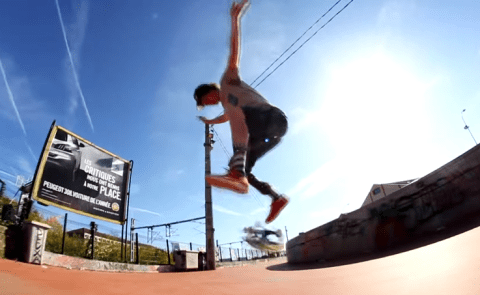 Meet the one-legged skateboarder who can seriously shred