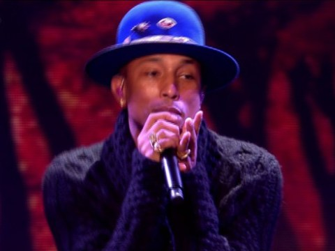 Pharrell Williams praises Lauren Platt after X Factor performance