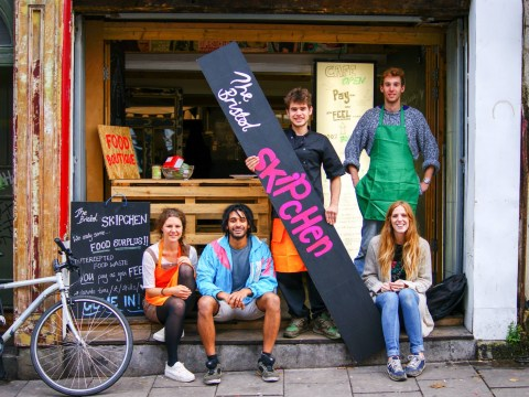 Would you eat food salvaged from a skip?