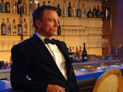 So it turns out Daniel Craig is the booziest James Bond ever