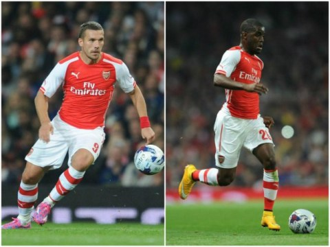 Inter Milan to launch move for Arsenal duo Lukas Podolski and Joel Campbell in January