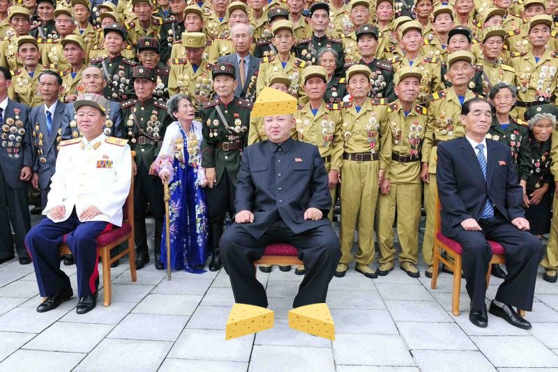 Kim Jong-un 'is so fat from eating cheese that he has broken his ankles'