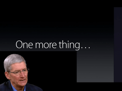 Ultimate video to launching iPad and Apple stuff, summed up in a minute