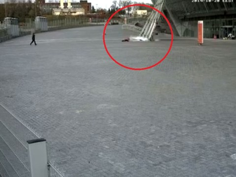 Shakhtar Donetsk's Donbass Arena damaged by shells in Ukraine conflict, woman has incredibly lucky escape