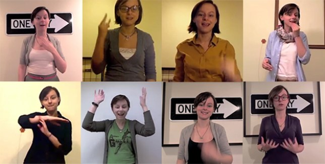 Kristin Henson will help you learn everything you need to know to abuse the deaf (Pictures: Facebook)