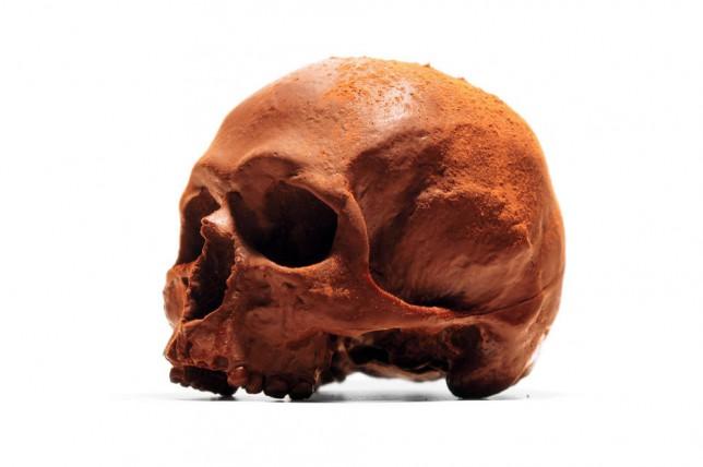 solid chocolate skull (Picture: Selfridges)