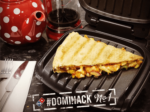 The humble Domino's toastie is pretty much the ultimate leftover food hack