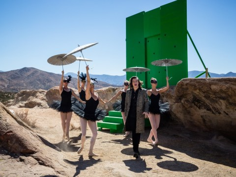 Behind the scenes of One Direction's video Steal My Girl – what on Earth is going on?