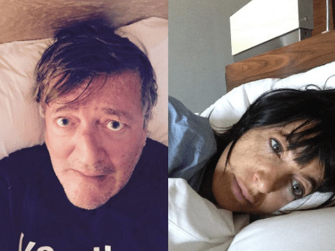 Celebrities jump on board the latest no make-up selfie craze, #WakeUpCall