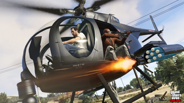 Grand Theft Auto V - why are the helicopters never as much fun as they look?