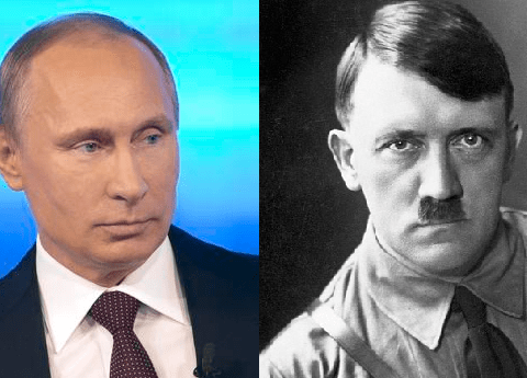 Vladimir Putin: There was nothing wrong with Russia's pact with Hitler