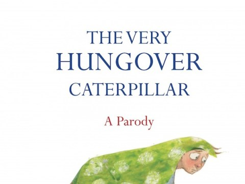 Kid's book rewritten for parents: The Very Hungover Caterpillar