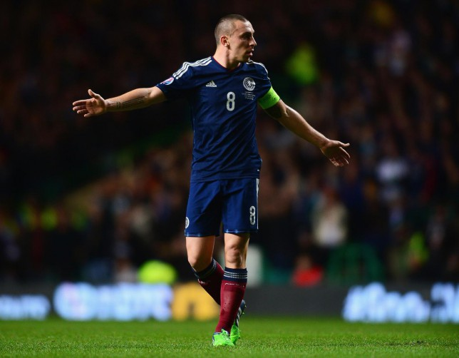 Can Scott Brown lead Scotland to a famous victory over England?