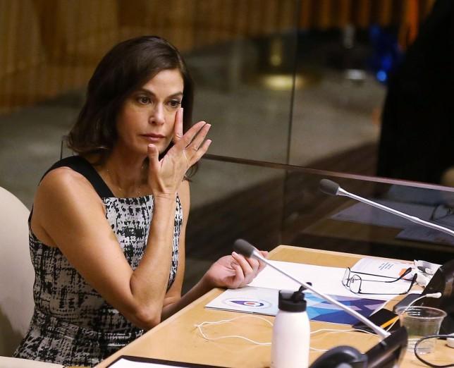 Teri Hatcher reveals sexual abuse ordeal during emotional UN speech