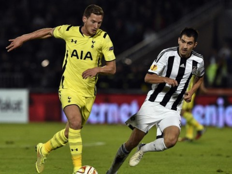 Tottenham defender Jan Vertonghen becomes top Manchester United target for January transfer