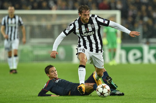 Arsenal and Manchester United handed blow in transfer race for Juventus star Claudio Marchisio