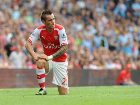 Mathieu Debuchy targets December return from injury to boost Arsenal defence