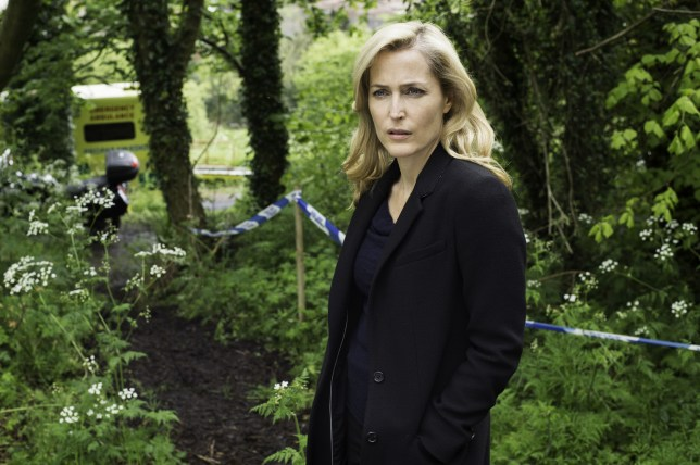 Gillian Anderson as DSI Stella Gibson in The Fall (Picture: BBC)