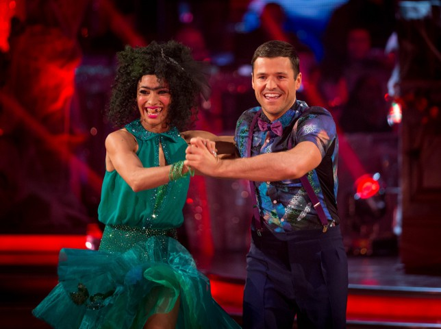 Lauren Goodger 'embarrassed' by Mark Wright on Strictly Come Dancing 2014