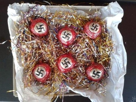 Outrage after Nazi Christmas baubles are put up for sale on online marketplace