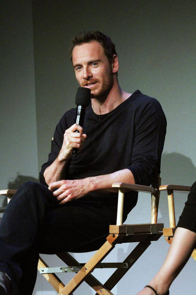 NEW YORK, NY - AUGUST 07: Michael Fassbender attends 'Meet The Actor' at Apple Store Soho on August 7, 2014 in New York City. Laura Cavanaugh/FilmMagic