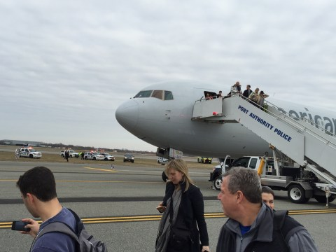 Plane evacuated due to bomb scare at New York's JFK airport