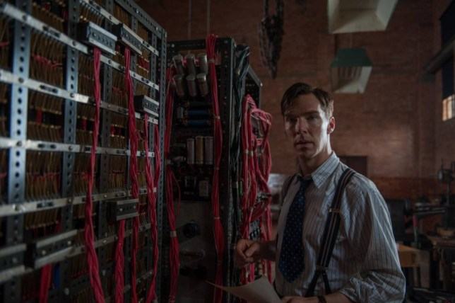 Film: The Imitation Game (2014, starring Benedict Cumberbatch as Alan Turing.   The Imitation Game IG_02611_copy-1.jpg