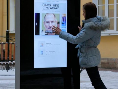 Russia destroys iPhone statue after Tim Cook comes out as gay