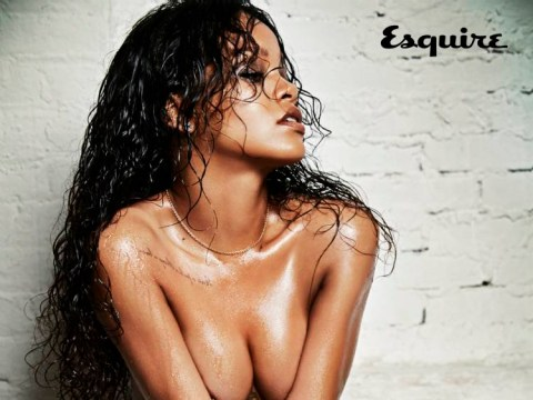 Rihanna turns up the heat in her most sizzling shoot to date to celebrate, erm, Caribbean food and rum punch…