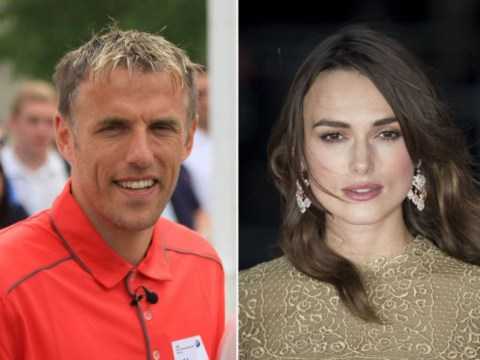 Phil Neville finds unlikely ally in Hollywood star Keira Knightley after she defends his commentating
