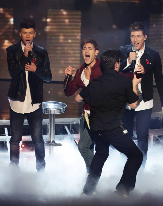The X Factor 2014 live shows: Stereo Kicks' stage imposter Lee Nelson got in BIG trouble with Simon Cowell