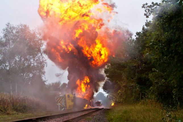 As Hollyoaks derails a train, what are the ten most memorable soap disasters?