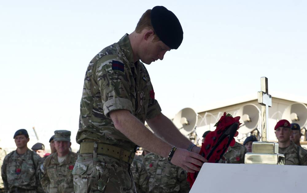 Armistice Day: Prince Harry to lead Remembrance service