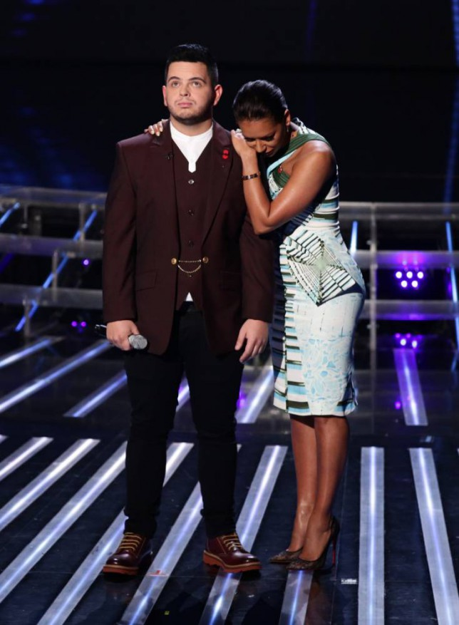 The X Factor 2014 results: Paul Akister admits he didn't like Mel B's song choices