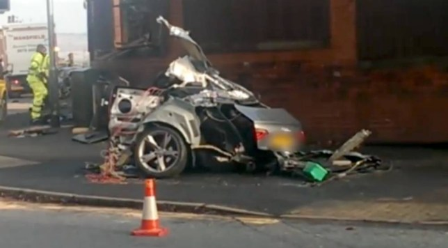 Driver killed after two sports cars crash 'following street