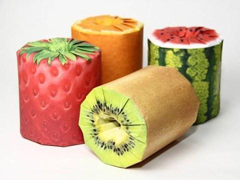 Tutti frutti loo roll (from Japan, obvs)