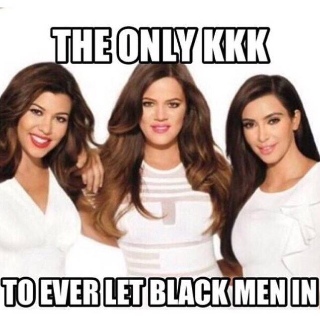 Khloe Kardashian posts controversial KKK meme on Instagram