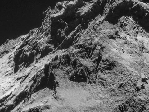 In pictures: Probe captures spectacular space-scape as it lands on comet