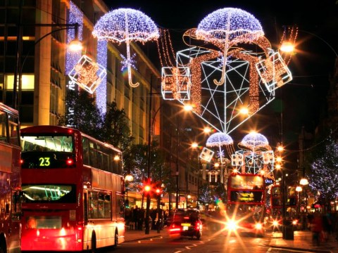 Now YOU can turn the Christmas lights on all over London