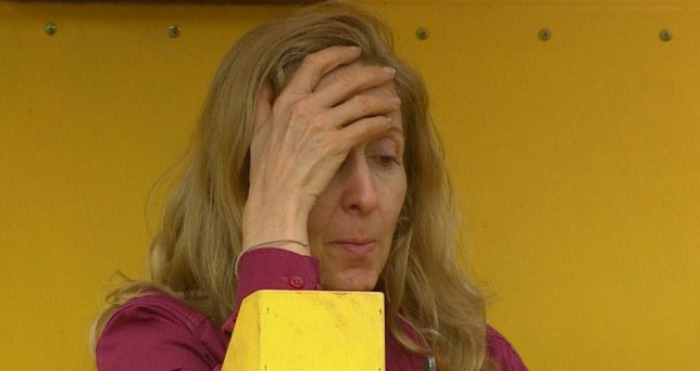 Editorial Use Only - No Merchandising.. Mandatory Credit: Photo by ITV/REX (1251074di).. Gillian McKeith is the first celebrity to refuse a Bushtucker Trial - Dreaded Digger... 'I'm A Celebrity...Get Me Out Of Here' TV Programme, Australia - 21 Nov 2010.. ..