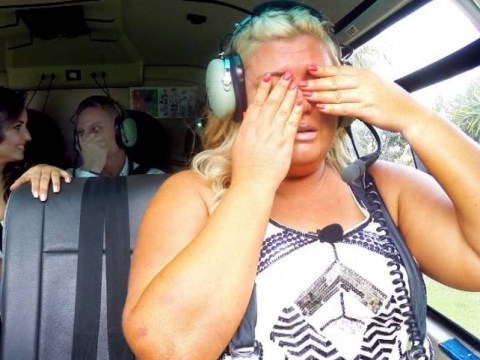 I'm A Celebrity 2014: TOWIE star Gemma Collins breaks down at first helicopter hurdle
