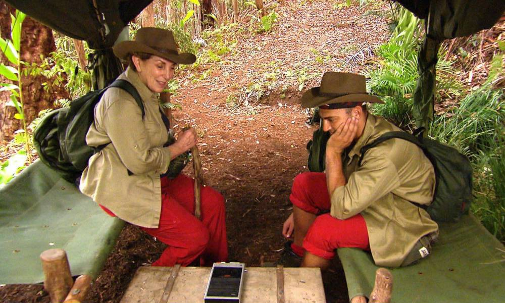 Jake Quickenden and Edwina Currie get recruited to the I'm A Celebrity CIA